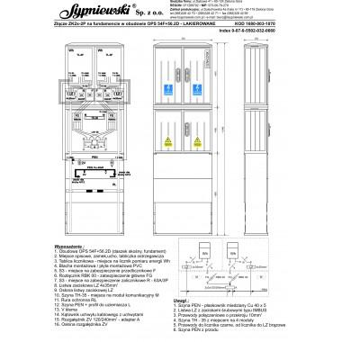 ZK2x-2P w obudowie OPS 54F+56.2D