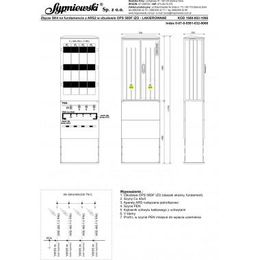 Złącze SK4 w obudowie OPS 58DF IZO